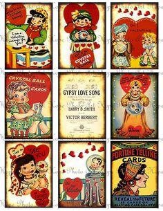 gypsy vintage valentine