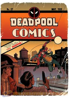 Deadpool #27 Variant Cover by Art Adams