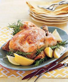 5 ingredients + 10 mins prep time = Lemon-Rosemary Chicken