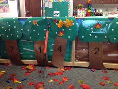 Fall/ autumn dramatic play for preschoolers/ kindergarteners. Fall Preschool Activities, Preschool Crafts, Tree Study, Dramatic Play Centers, Apple Theme, Kindergarten Lesson Plans, Creative Curriculum, Farm Theme, Autumn Theme