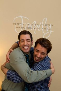 find this pin and more on property brothers scott brothers - How Tall Is Jonathan Scott