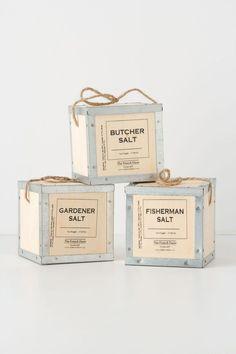 The French Farm salt packaging  #labels #branding #packaging