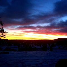 Pagosa Springs, Colorado Sunset