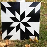 maybe paint one of these for the side of the house in the hummingbird garden. Quilt Square Patterns, Barn Quilt Patterns, Barn Quilt Designs, Quilting Designs, Charm Square Quilt, Painted Barn Quilts, Barn Signs, Barn Art, Quilted Wall Hangings