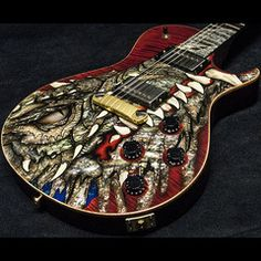 "2003 PRS Dragon 2002 Singlecut #41 Red - SOLD   Garrett Park Guitars ""Hall of Fame""   www.gpguitars.com"