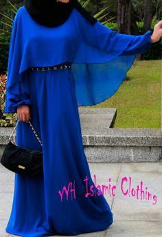 China Elegant Fashion Islamic Chiffon Long Muslim Dress, Find details about China Islamic Clothing, Chiffon Long Dress from Elegant Fashion Islamic Chiffon Long Muslim Dress - Guangzhou City Haizhu Area Yaya Red Clothing Factory Modest Fashion Hijab, Niqab Fashion, Hijab Chic, Hijab Abaya, Hijab Dress, Islamic Fashion, Muslim Fashion, Hijab Style Tutorial, Casual Formal Dresses