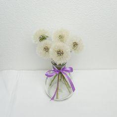 Pusteblume haltbar machen Gadgets, Stud Earrings, Vase, Austria, Blog, Decor, Repurpose, Flowers, Creative