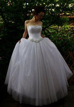 Wedding Dress Bridal Dress Wedding Gown Bridal Ball Gown Sweetheart  Neckline Swarovski Rhinestones P 4a2fe02b33e48