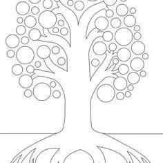 Plantillas gratuitas para hacer tu árbol genealógico Lettering, Family Tree Templates, Free Stencils, Plants, Drawing Letters, Brush Lettering