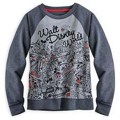 Mickey and Minnie Mouse Raglan Sleeve Top for Women - Walt Disney World
