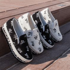 Mickey Mouse Loafers - Made in Korea - Women's Loafers - https://gangnamstyles.fashion/collections/flats-and-loafers/products/mickey-mouse-loafers