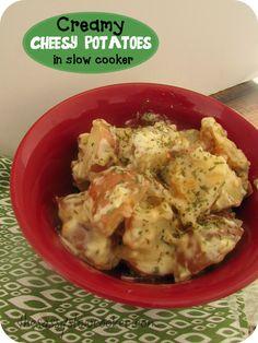 Slow Cooker Cheese Potatoes Recipe