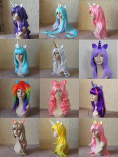 Costume wig - My Little Pony - Friendship is Magic
