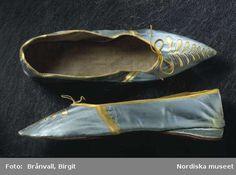Shoes, ca 1800, Nordiska Museet