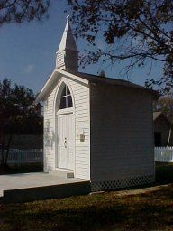 Madonna Chapel - The Smallest Church in the World, Bayou Goula, Louisiana