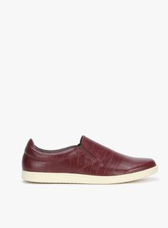6daca70df Buy Knotty Derby Justin Slip On Maroon Loafers Online - 4982324 - Jabong