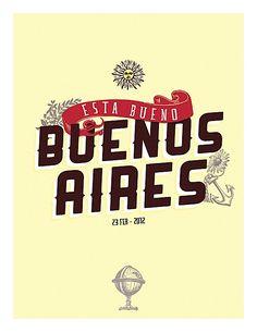 Esta Bueno Bueno Aires - Abduzeedo