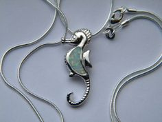 Gemstone Necklace Opal Necklace Opal Pendant by AlwaysCrafty77, $25.00