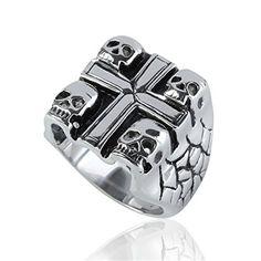 PiercingJ Punk Rock Gothic Vintage Mens Stainless Steel Band Finger Ring, Religi... PiercingJ http://www.amazon.com/dp/B00RGC5D7U/ref=cm_sw_r_pi_dp_ICKiwb006WQ0Z