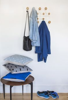 Blue Pillows - Cotton & Flax