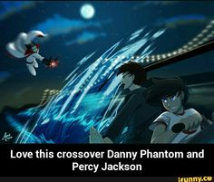 Love this crossover Danny Phantom and Percy Jackson