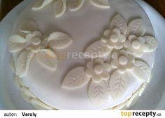Čokoládový dort s karamelovým krémem - recept i na marcipán - TopRecepty.cz