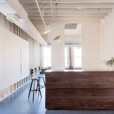 WORKSTEAD - Our brass pendant, playing nice with @sawkillecompany at @thefirstward in Tulsa, OK