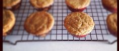 Gluten-Free Chai Tea Muffins with Almond & Whole Millet for a delicious & healthy crunch!