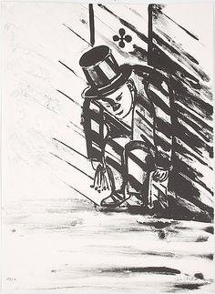 "Lena Cronqvist: Ur ""Ett Drömspel"", litografi, 73x53 cm, edition 169/170 - Bukowskis Market 10/2012"