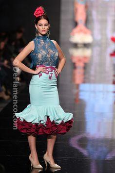 Fotografías Moda Flamenca - Simof 2014 - Pilar Rubio 'Va por ti' Simof 2014 - Foto 04