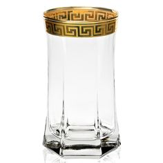 These highball tumblers by Lorren Home Trends are perfect for entertaining with elegance. These beverage glasses feature a striking Florence 24k gold band for the ultimate in refined style.