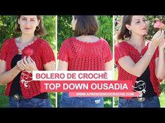 Colete Crochê Boho Chic - Aprendendo Crochê - YouTube