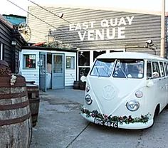 Our vintage VW wedding car can be decorated to match any wedding theme. Wedding car rental in London, Kent, Essex, Surrey and Sussex. Wedding Vans, Wedding Car Hire, Wedding Company, Vw Campervan Hire, Uk Bride, Wedding Car Decorations, Quirky Wedding, London Wedding, Christmas Wedding