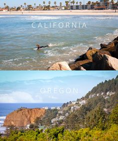 """""""A Tale of Two Oceansides"""" Creative Photography, Original Image, Oregon, California, Water, Outdoor, Gripe Water, Outdoors, Outdoor Games"""