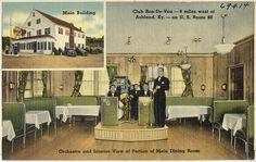 Club Ron-De-Vou -- 9 miles west of Ashland, Ky. -- on U. S. Route 60. Boston Public Library via Flickr.