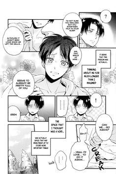 Page 19 #Ereri #riren #eren #yeager #levi #aot #attackontitan #yaoi #doujinshi #sweet #romantic #r18