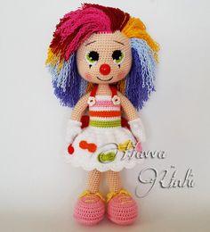Amigurumi Crochet Patterns for Handmade Dolls and Toys by HavvaDesigns Amigurumi Patterns, Amigurumi Doll, Doll Patterns, Crochet Gifts, Cute Crochet, Knitted Dolls, Crochet Dolls, Crochet Doll Pattern, Crochet Patterns