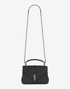 cac9d6c70742 collège medium in matelassé leather. Ysl College Bag MediumCollege BagsSaint  Laurent ...