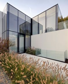 Cube Shaped Glass House by BBSC Architects