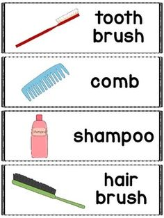 Hygiene words great for a pocket chart, word wall or flash cards.    Includes twelve hygiene words and pictures.    Clip art from www.mycutegraphics.com