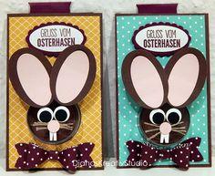 Schönes aus Papier Stampin Up Karte Ostern Hase