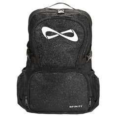 6841a0cb1383 Nfinity Black Sparkle Backpack NF-9009 Cheer Backpack