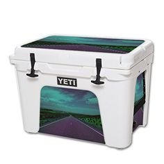 MightySkins Protective Vinyl Skin Decal for YETI Tundra 50 qt Cooler wrap cover sticker skins Highway ** Check this awesome product by going to the link at the image.(This is an Amazon affiliate link and I receive a commission for the sales)