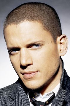 Wentworth Miller has the most piercing eyes!