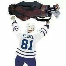 Sorry Kessel. There's always golf. The Comeback Hockey Baby, Hockey Teams, Ice Hockey, Hockey Stuff, Phil Kessel, All About Canada, Hockey Quotes, Go Broncos, Hockey Season