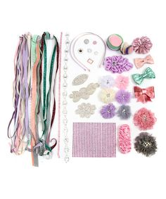 Another great find on #zulily! Purple & Green DIY Fashion Headband Kit #zulilyfinds