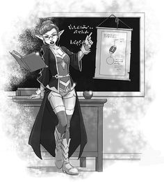 Professor de Magia - Manual do Arcano