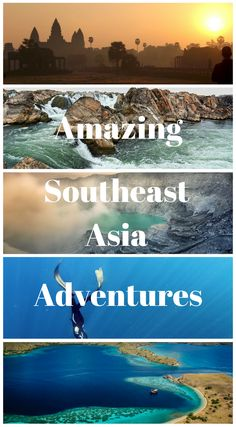 Amazing Southeast Asia Adventures you must have. We asked our fellow travel bloggers to help us put together a collective of some of the best adventures you can have in southeast Asia, this is what they had to say. 34 Amazing Southeast Asia Adventure Experiences Click to read more at http://www.divergenttravelers.com/southeast-asia-adventure-experiences/