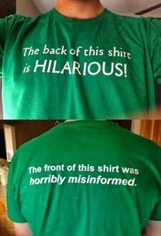 Geek Tshirt | From Tim Johnson - Google+ | #hilarious #misinformation