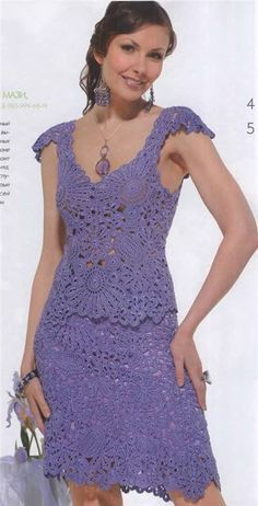 crochet lace top and skirt for ladies   make handmade, crochet, craft